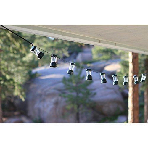 Coleman Led String Lights : Coleman LED String Lights Camping Classic Lantern Shape RV Yard Patio Tent Lamp eBay