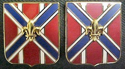 111th Field Artillery Distinctive Unit Insignia - Pair