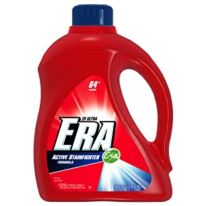 Era 2x Ultra Active Stainfighter Formula Regular Liquid Detergent 64 Loads
