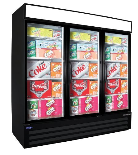 3 Door Commercial Refrigerator front-641098