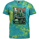 Tie-dye Caterpillar Alice in Wonderland shirt