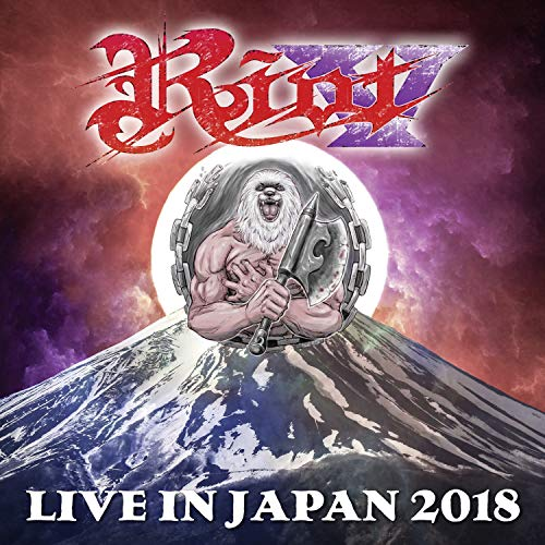 CD : RIOT V - Live In Japan 2018 (with Bluray) (3 Discos)