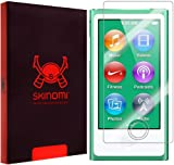 Skinomi® TechSkin - Apple iPod Nano 7 Screen Protector Premium HD Clear Film with Lifetime Replacement Warranty / Ultra High Definition Invisible and Anti-Bubble Crystal Shield - 2-Pack Retail Packaging