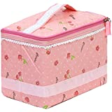 ProLovous Flower Cosmetic Bag Makeup Bag Travel Accessory