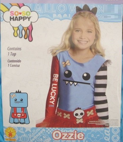 Rubies So-So Happy Ozzie Costume Top, Child Small/Medium