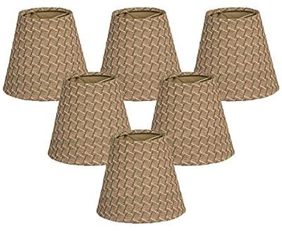 Royal Designs Hardback Empire Green/Gold Chandelier Lamp Shade