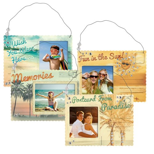 Grasslands Road Beach Postcard Frame Assortment, 4 By 6-Inch, Set Of 12