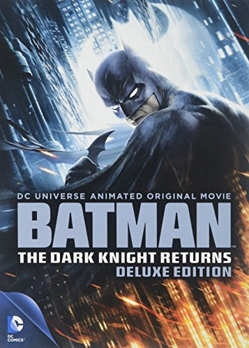 DVD : Batman: The Dark Knight Returns (DCU) (Deluxe Edition, Full Frame, 2 Pack, 2 Disc)