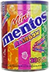 Mentos Mini Rainbow Mint Rolls Tub, 1…