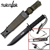 New THE SURVIVOR Survival Knife HK56141B