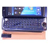 docomo Windows7携帯 LOOX F-07C専用 Smart Holdaer for Biz(ブックスタイル) + ノングレア画面保護フィルム