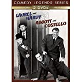 Cover art for  Abbott & Costello / Laurel & Hardy