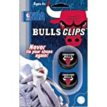 NBA Lace Clips (Bulls, Black)