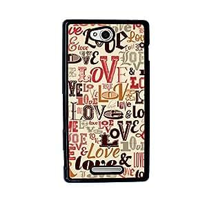LoveLoveLove Case for Sony Xperia C