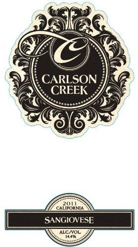 2011 Carlson Creek Vineyard Sangiovese 750 Ml