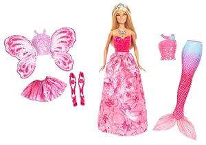 Mattel Barbie X9457 - 3-in-1 Fantasie Barbie, Puppe