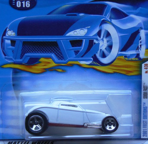 HOT Wheels 2001 First Edition 016 Sooo Fast 4/36 1:64 Scale - 1