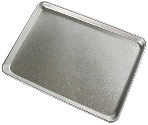 New Star 37319 Textured Commercial Grade Sheet Pan Display Tray, 18 by 26-Inch, Silver Anodized