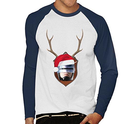 robocop-christmas-antler-head-mens-baseball-long-sleeved-t-shirt