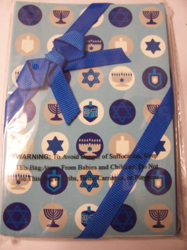 Cards & Envelopes ~ Signs of Hanukkah (8 Pack)