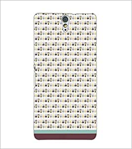 PrintDhaba Owl Pattern D-1683 Back Case Cover for SONY XPERIA C5 ULTRA (Multi-Coloured)