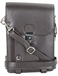 Gagan Leather House Leather Brown Messenger Bag