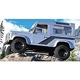 RC4WD Gelande II Truck Kit w/Defender D90 Body Set ラジコン (並行輸入)