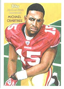 2009 Topps National Chicle #C151 Michael Crabtree San Francisco 49er