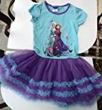 Frozen Disney Queen Princess Elsa and Anna Child Girls Dress Skirt 120cm