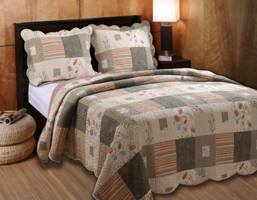 Greenland Home Sedona Full/Queen 3-Piece Quilt Set