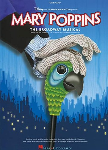sherman-mary-poppins-the-new-musical-easy-pf-book-easy-piano-songbook