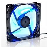 サイズ AO-KAZE 青風 LED搭載12cmファン AO-KAZE