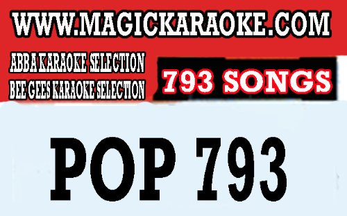 Find Bargain POP793 793 songs for magic sing karaoke mic compatible with et models and ed model