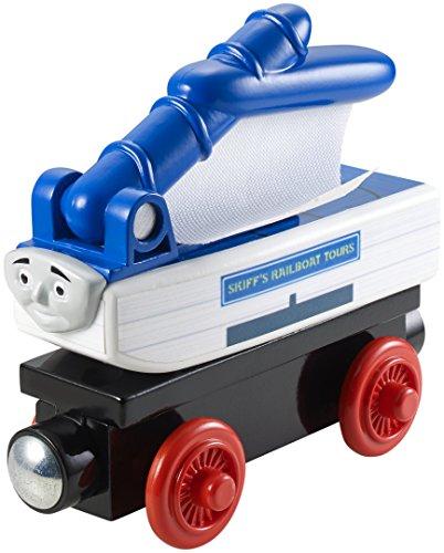 Fisher-Price Thomas the Train Wooden Railway Skiff the Railboat Train