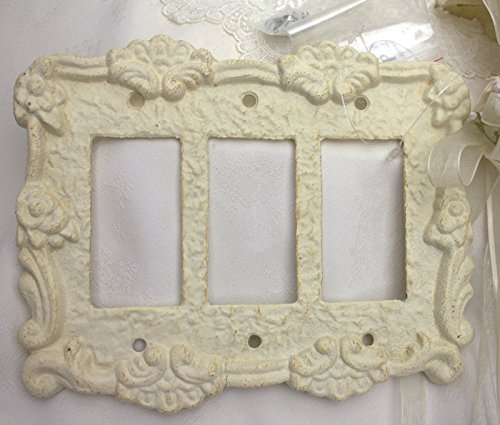 White Cast Iron Bed front-728073