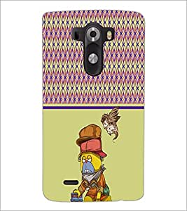 PrintDhaba Cartoon D-4317 Back Case Cover for LG G3 (Multi-Coloured)