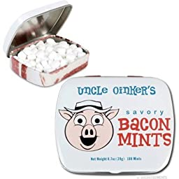 Bacon Flavored Mints net wt. 0.7 oz(20 g)
