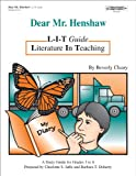 Dear Mr. Henshaw Literature in Teaching Guide