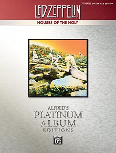 Led Zeppelin V Houses of the Holy Platinum Guitar: Authentic Guitar Tab (Alfred's Platinum Albums)