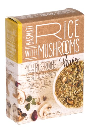Pereg Gourmet Basmati Rice with Mushroom Mix, 6-Ounce