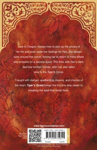 Tiger 02. Tiger's Quest : A heart-pounding adventure....magical! (Tiger Saga)