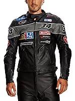 Roleff Racewear Chaqueta Motorrad (Negro)