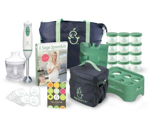 Baby Food Making System - 22 Pc Kit With Blender, Storage Bags, Trays, Jars, And Recipe Book (Discontinued by Manufacturer) - 1