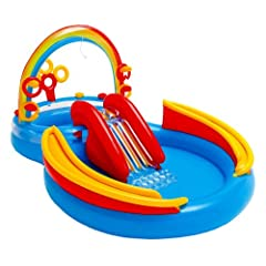 Buy Intex 117-by-76-by-53-Inch Rainbow Ring Pool Play Center by Intex