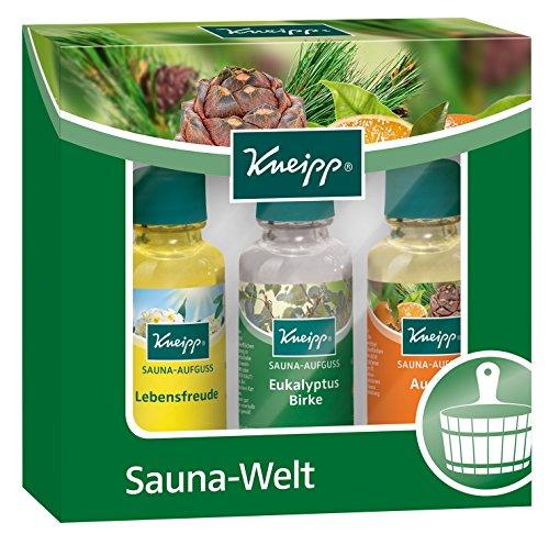 Kneipp Geschenkpackung Sauna-Welt Probierset