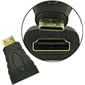 OPHION® HDMI Gender Changer Small Adapter | Small HDMI Male To HDMI Female Adapter | HDMI Female To MINI HDMI...