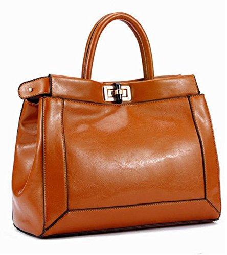 GQ-WOMEN BAG Borse tracolla in pelle borsa a tracolla donna borsa in pelle nuova moda borse , naturals