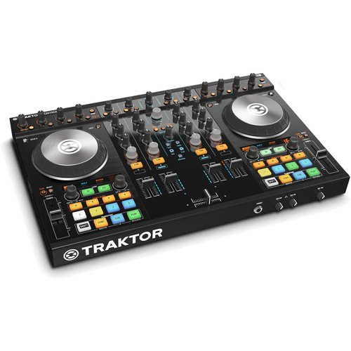 Cheapest Price! Native Instruments Traktor Kontrol S4 MK2 DJ Controller