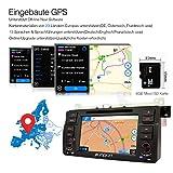 Pumpkin-7-Zoll-1-Din-Autoradio-Moniceiver-Naviceiver-DVD-Player-fr-BMW-E46-M3-318-320-325-330-335-1998-2006-mit-Touch-Screen-Untersttzt-GPS-Navigation-Bluetooth-Lenkradfernbedienung-USB-iPod-mit-Rckfa