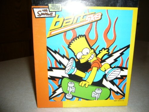 THE SIMPSONS: BART SK8 (100 Piece Puzzle)